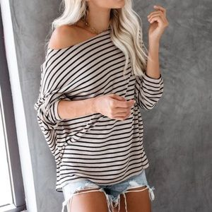 🆕Stripe top, NWT.